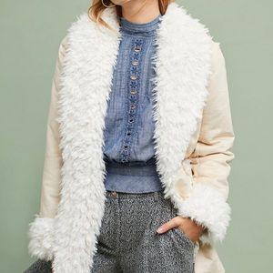Michael Stars Faux Fur Oversized Jacket